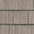 """7""""W x 60 3/4""""L Exposure, Vinyl Hand Split Cedar Shakes, (34 Panels/Ctn. = 100 Sq. Feet)"""