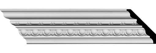 Urethane Crown Moulding 3-5-8-H-x-3-3-8-P-x-5-F-x-94-5-8-L-Stockport-Traditional-Crown-Moulding
