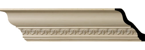 Wooden Crown Moulding 4-7-8-H-x-4-3-4-P-x-6-3-4-F-x-96-L-Lanarkshire-Carved-Wood-Crown-Moulding