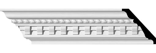 Urethane Crown Moulding 3-1-2-H-x-3-7-8-P-x-5-1-8-F-x-95-5-8-L---1-3-8--Repeat---Bulwark-Dentil-and-Rope-Crown-Moulding