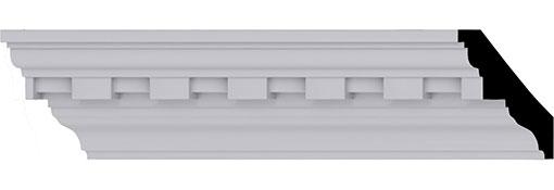 Urethane Crown Moulding 2-H-x-2-P-x-2-7-8-F-x-96-L---1-1-4--Repeat--Dentil-Crown-Moulding