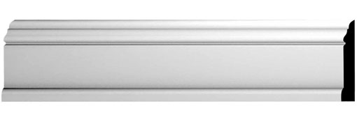Baseboard 5-1-4-H-x-1-1-8-P-x-144-L-Baseboard-Moulding--Smooth