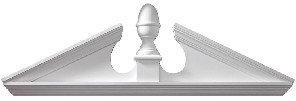 Pediments Combination-Acorn-Pediment