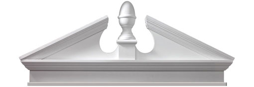 Pediments Combination-Acorn-Pediment-with-Bottom-Trim