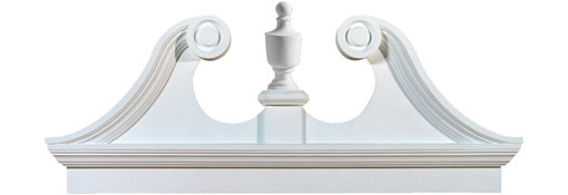 Pediments Combination-Rams-Head-Pediment