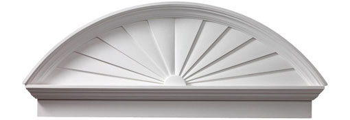 Pediments Combination-Sunburst-Pediment