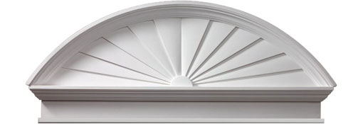 Pediments Combination-Sunburst-Pediment-with-Bottom-Trim