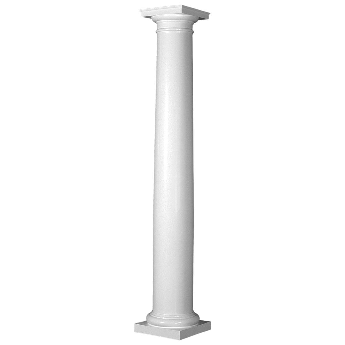 decorative pillars columns home depot - home decor